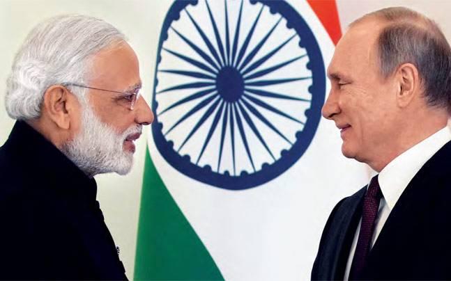 PM Narendra Modi, Russian President Vladimir Putin