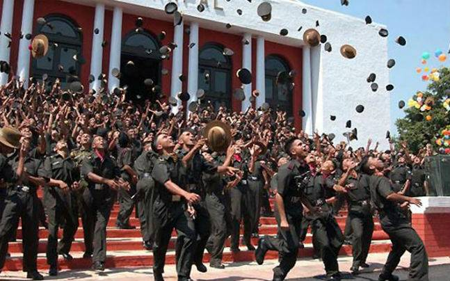 ima dehradun passing out parade 519 officers join the prestigious