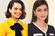 Fashion face-off: It's school girl chic for Kangana Ranaut and Kriti Sanon