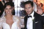Frank Lampard marries girlfriend Christine Bleakley
