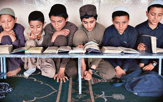 Intelligence officials, who are tracking the ISIS threat, don't see a direct lure for the terror outfit in madrasas but some of them are receiving foreign funding from Islamic countries, which could be a breeding ground for extremism