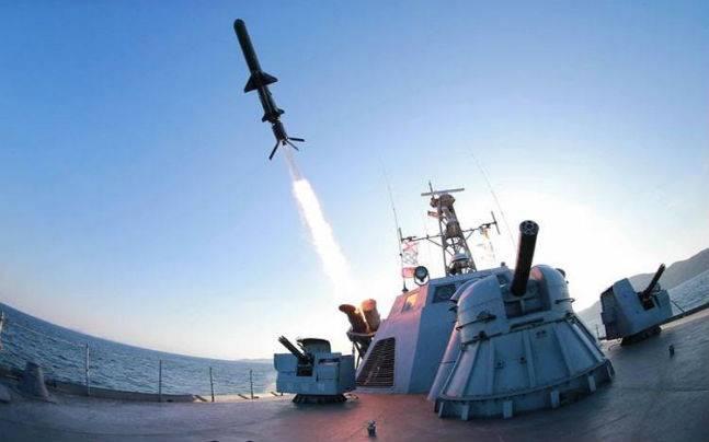 Indian Navy tests Barak 8 missile