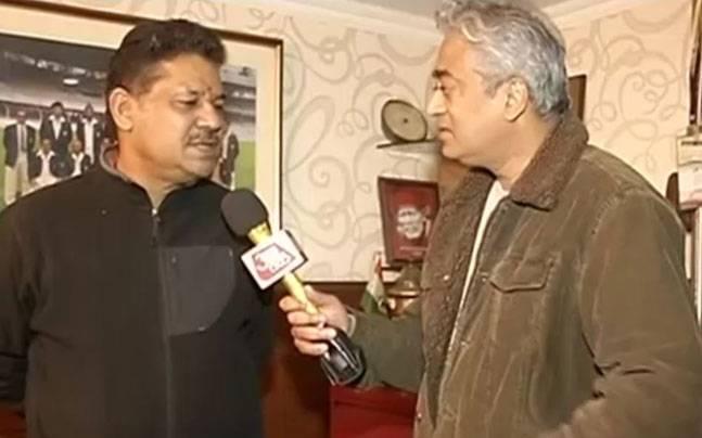 Kirti Azad with Rajdeep Sardesai