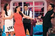 Dilwale SRK sets Comedy Nights on fire