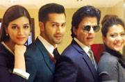 Photo of the day: SRK-Kajol to Varun-Kriti, the Dilwale gang takes over London