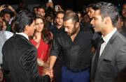 SEE PICS: After Bigg Boss 9, it's a reunion for SRK, Salman and Kajol at Stardust Awards