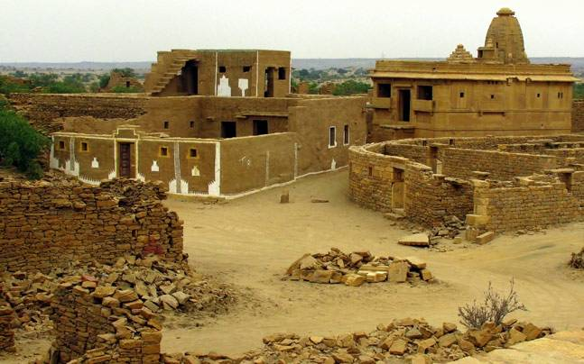 The hunted village of Kuldhara in Jaisalmer, Rajasthan. Picture courtesy: Flickr/Mirza Asad Baig/Creative Commons