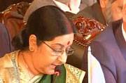 Sushma in Islamabad: The heart of Asia can't function if its arteries are clogged