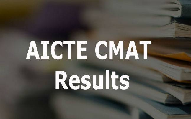 AICTE CMAT Results: Declared at http://www.aicte-cmat.in