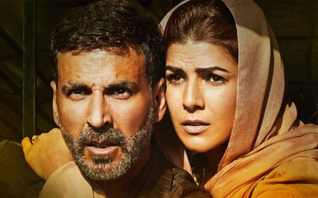 Akshay Kumar and Nimrat Kaur in a poster of Airlift