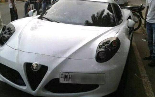 Alfa Romeo 4C spotted in Mumbai - Auto News