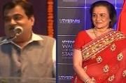 Nitin Gadkari says Asha Parekh lobbied for Padma Bhushan