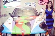 BMW brings 'Rolling sculpture' car to India Art Fair
