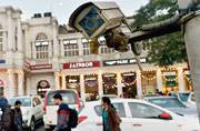 No one is watching you in Connaught Place! Busy market area's CCTV cams are dead