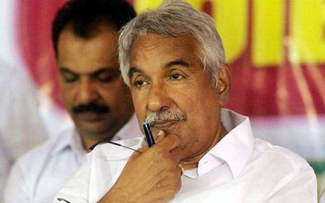 Kerala Chief Minister Oomen Chandy