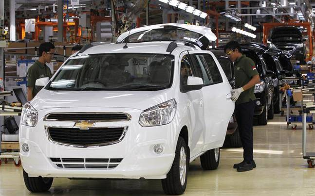 General Motors India To Showcase Mpv Spin 2 New Concept Vehicles At