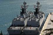In a first, Chinese Navy frigates dock in Bangladesh
