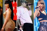 Taylor Swift, Justin Bieber, Nicki Minaj win big at People