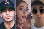 Justin Bieber's flirting with Ariana Grande didn't go down very well with her boyfriend