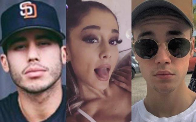 Picture courtesy: Instagram/Ricky Rozay/Ariana Grande/Justin Bieber