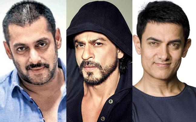 Salman, Shah Rukh and Aamir Khan