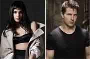 Tom Cruise and his crush Sofia Boutella together in The Mummy reboot. We're not joking!