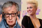 Woody Allen is making a TV series with Miley Cyrus in it!