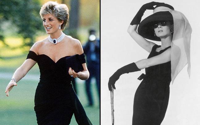Princess Diana, Audrey Hepburn; Pictures courtesy: Harper's Bazaar