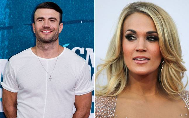 Sam Hunt, Carrie Underwood; Pictures courtesy: Reuters