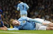 Manchester City's Kevin De Bruyne out for about 10 weeks