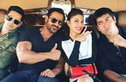 SEE PIC: This is how John, Varun, Jacqueline and the Dishoom team were welcomed to Abu Dhabi