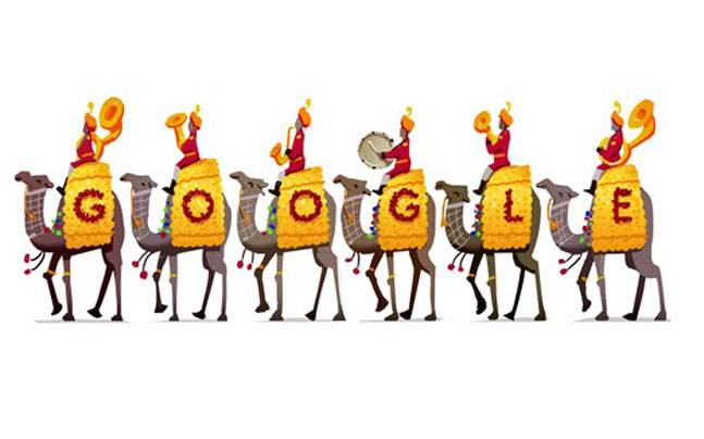 Google Celebrates Republic Day With Bsf S Camel Contingent Doodle