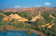Ranthambore's Oberoi Vanyavilas is the best luxury hotel in India!