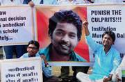 Hyderabad university revokes suspension of 4 Dalit students