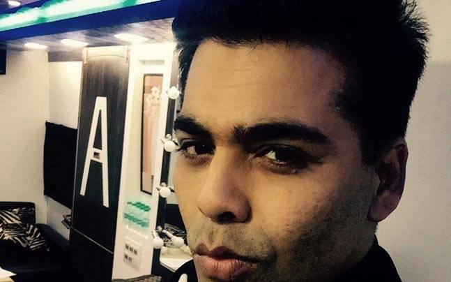 Karan Johar will soon launch his biography, An Unsuitable Boy. Picture courtesy: Twitter/@karanjohar