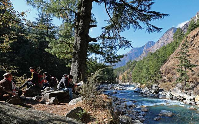 Travelling to lesser known cities, small towns and remote villages is going to be a big trend. In order to closely experience local culture, discerning travellers will be backpacking to explore offbeat places like Kasol. Picture courtesy: Mail Today