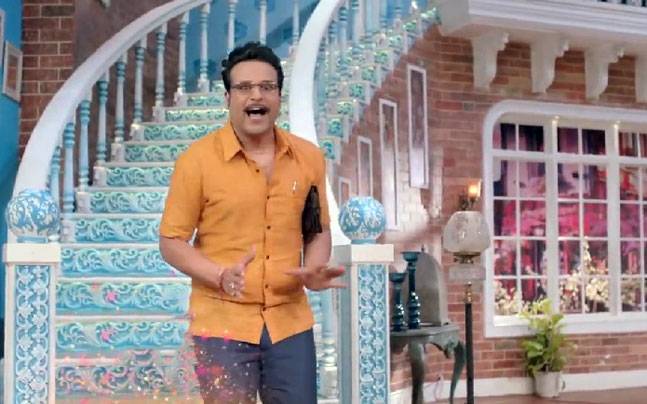 Krushna Abhishek in a still from his new show Comedy Nights Live Picture courtesy: Colors TV