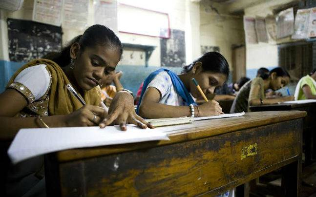 Literacy rate of women goes up in India
