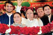 Lalu Prasad Yadav crowned RJD chief for ninth term