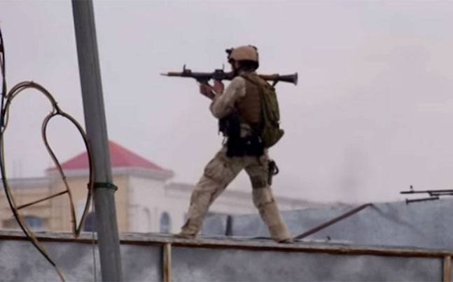 Attack on Indian consulate in Afghanistan