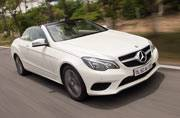 Mercedes Benz E-Class Cabriolet is full of panache
