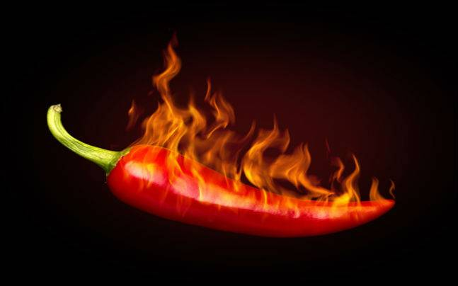 Hottest peppers on Earth