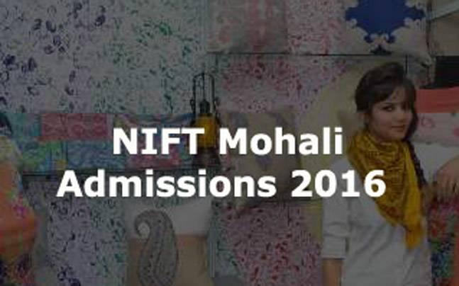 NIIFT Mohali admissions