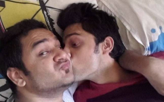 Vikas Gupta and Parth Samthaan Picture courtesy: Vikas Gupta