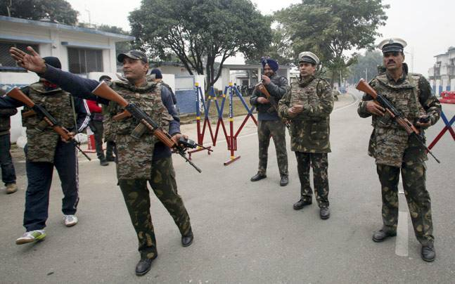 Decurity personnel at Pathankot air base