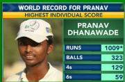 World record: A Mumbai schoolboy breaks 117 year old record and scores 1009 runs