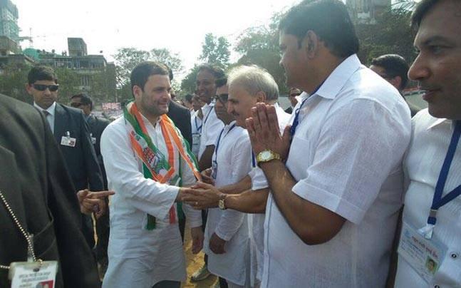 Rahul Gandhi in Malad