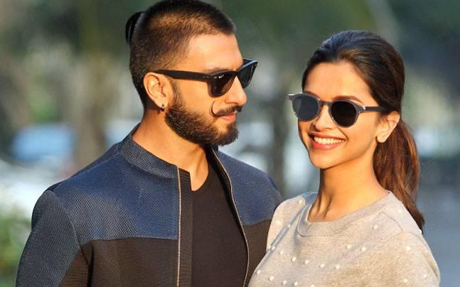 Ranveer Singh and Deepika Padukone