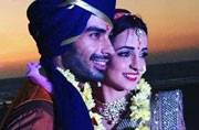 See pics: Mohit Sehgal, Sanaya Irani are man and wife
