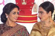 #BeautyGoals: Rekha and Sridevi together in the most ageless picture of all time